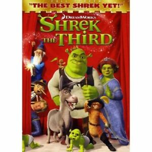 Shrek The Third DVD - New in sealed package
