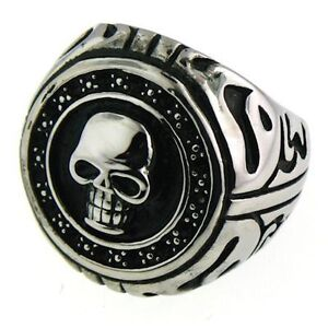 Rings With Skulls,Cross & More!