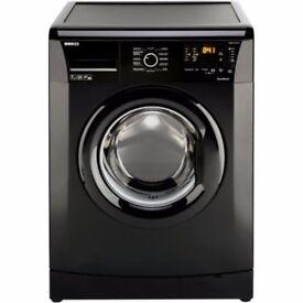 Ex-Lease Beko WMB71231B 7kg 1200rpm Freestanding Washing Machine in Black