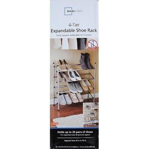 BRAND NEW IN BOX 4 TIER SHOE RACK