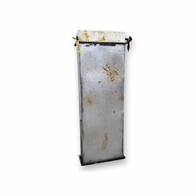 Used Stainless Steel Bin Vent Filter Part