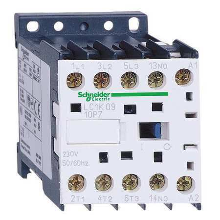 SCHNEIDER ELECTRIC LC1K0610F7 110VAC Non-Reversing IEC Mini Magnetic Contactor