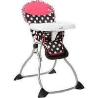 *New* Disney Minnie Mouse Simple Fold Plus High Chair - $50