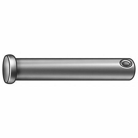 Zoro Select 11-001Z Clevis Pin,Stl,3/16X1/2 L,Pk25