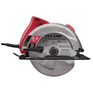 SCIE CIRCULLAIRE SKILSAW 2.03HP, 12 AMP +  2 LAMES