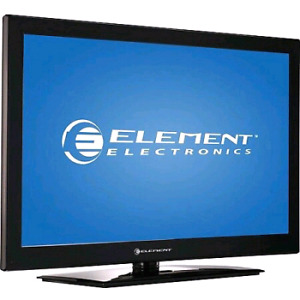 Element 32 inch flat screen LCD HDTV works perfectly in excellen