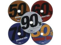Massive CD Music Collection - 50's, 60's, 70's, 80's, 90's, 00's - 7,400+ tracks