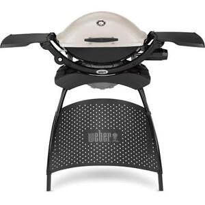 Weber Propane Q2200 Portable BBQ Grill with Full Stand