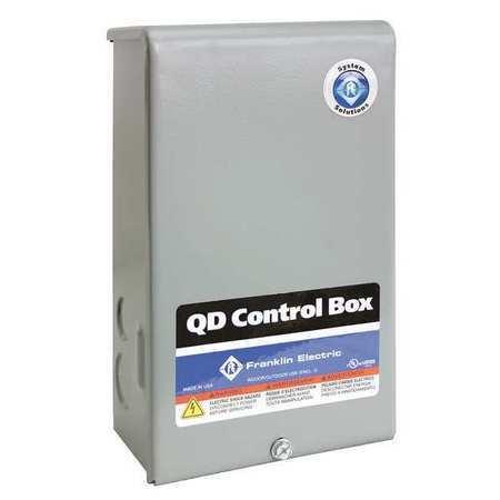 FRANKLIN ELECTRIC 2801024915 Control Box,1/3HP,115V,1Phase