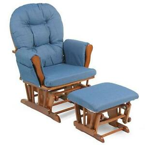 NEW IN BOX!! Glider Rocker Rocking chair and Ottoman