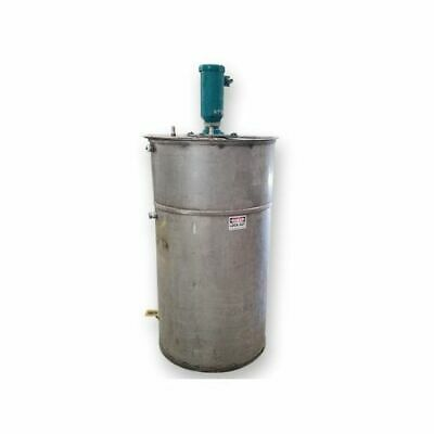 Used 250 Gallon Stainless Steel Mix Tank