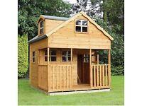 Waltons Dormer Window Outdoor Playhouse - £150, RRP £975