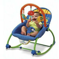 Fisher-price vibrating chair/siege vibrant