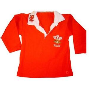fce314115b92 Babies Wales Rugby Shirts