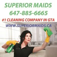 We will clean your home/office superior way!#1 cleaning company