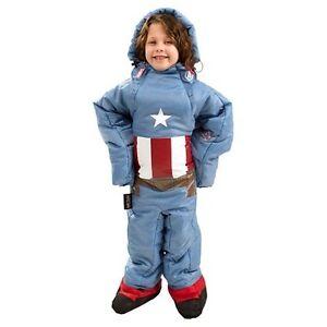 Selk bag Captain America sleeping bag KIDS Edmonton Edmonton Area image 5