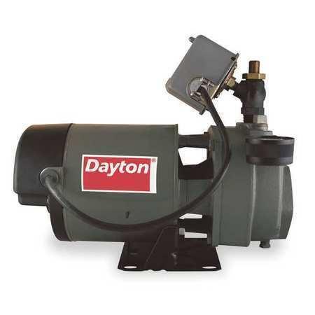 DAYTON 1D873 Pump,Jet,1 HP