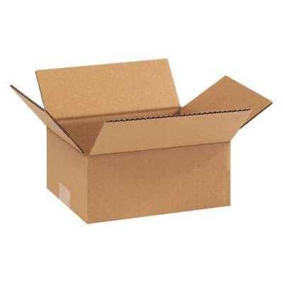 Box Usa 973 Flat Corrugated Boxes9x7x3 Kraftpk25