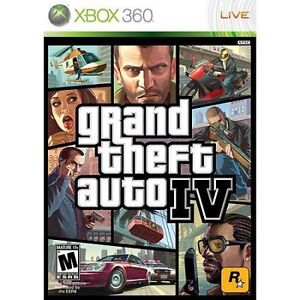 Grand Theft Auto 4-XBOX 360 LIVE-disc in case only-very good