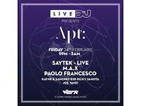 Apt: 004 x DJ Mag Live