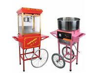 POPCORN AND CANDY FLOSS FOR HIRE - SUMMER DISCOUNT