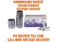 Birminghams Fastest Cream Chargers DELIVERY