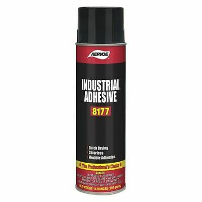 Aervoe 8177 Spray Adhesive 20 Oz Aerosol Can Begins To Harden In 1 To 3 Min