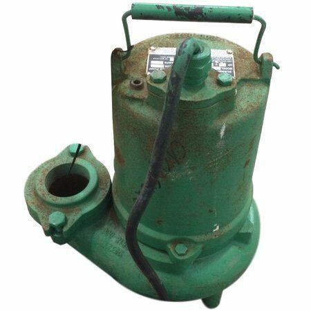 Used 3/4HP Hydromatic Submersible Sump Sewage Pump Model SK75M4