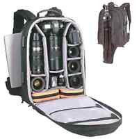 Camera and laptop backpack