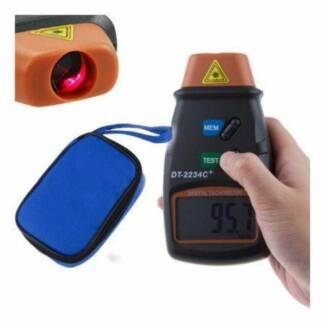 DT2234C+ Digital Laser RPM Tachometer Non Contact Measurement