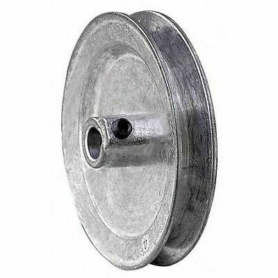 Congress Ca0400x062kw 58 Fixed Bore 1 Groove Standard V-belt Pulley 4.00 Od