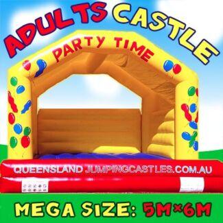 $199 = MASSIVE ADULT FUN CASTLE Brisbane South Free Delivery* Brisbane City Brisbane North West Preview