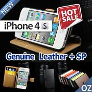 iPhone 4S Cover Leather