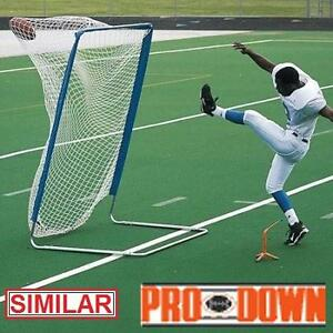 NEW PRODOWN VARSITY KICKING CAGE YELLOW TRIM - FOOTBALL PUNTING KICKING TRAINING PRACTICE EQUIPMENT PUNT KICK 104956111