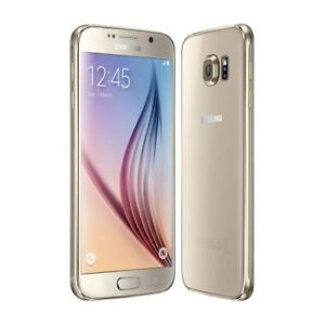 Samsung S6 32 gb Gold addition with box and case