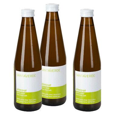 SantaVerde AloePur Sparpack 3x330 ml reiner Aloe Vera Saft