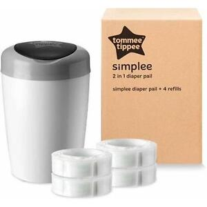 REDUCED PRICE*** Tommee Tippee Simplee Diaper Pail