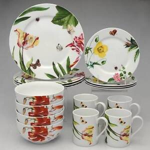 ROYAL WORCESTER FLORAL HAVEN PLACE SETTINGS. RW Essentials line.