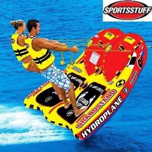 NEW GRANDSTAND 2 TOWABLE INFLATABLE 53-1860 189819190 SPORTSSTUFF WATER SKI TUBING