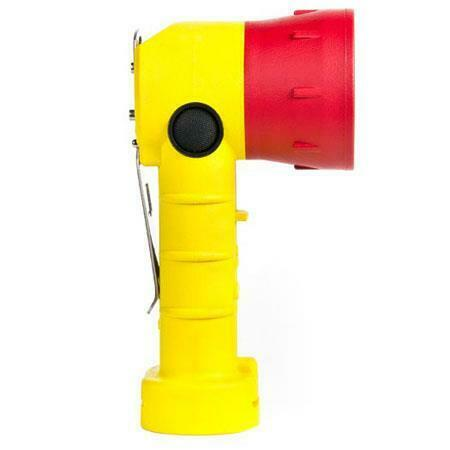 FoxFury 380-BT2-YE Breakthrough BT2 Right Angle LED Flashlight,200 Lumens-Yellow