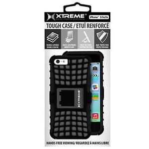 Xtreme Tough Case for iPhone 5/5C/5S - Black - 50851