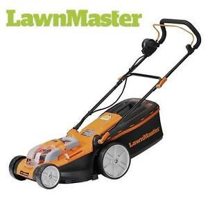 """USED LAWNMASTER CORDLESS LAWN MOWER - 119945822 - 40V - 16"""" - CORDLESS - LITHIUM-ION ELECTRIC LAWNMOWER"""