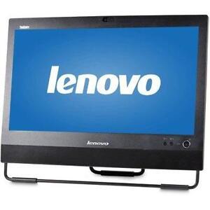 MEGA SOLDE: TOUT EN UN - LENOVO M71z - CORE I3 (2G) - MEM 4GB - 500GB - 20'' LED - WIFI - WIN 7