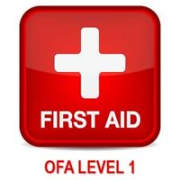 Occupational First Aid Level 1 - June 14, 2018