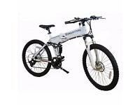 New electric Mountain Bike Evo motion Folding bike Free Uk delivery