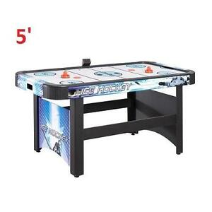 NEW* BW 5' AIR POWERED HOCKEY GAME BLUE WAVE - GAME TABLE 103041071