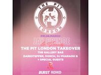 Jay Prince & Friends: The Pit LDN Takeover at Burst!