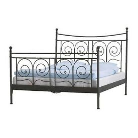 King size bed frame and slatted base - 150cm x 200cm