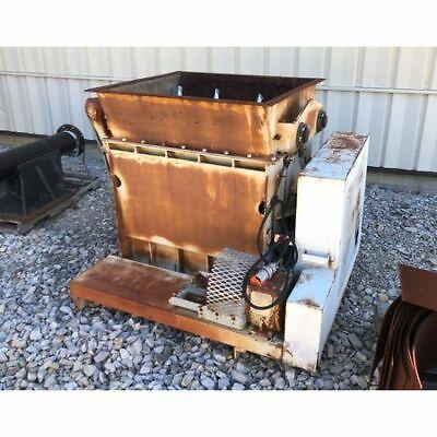 Used Wyssmont Rotoscoop Airlock Rotary Vane Feeder Model Srf-540
