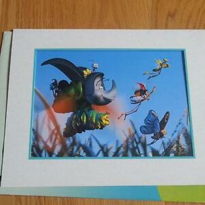Walt Disney - Commemorative- Lithograph - A Bug's Life